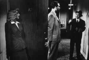 """Double Indemnity""Barbara Stanwyck, Fred MacMurray, Edward G. Robinson1944 Paramount / MPTV - Image 8294_0016"
