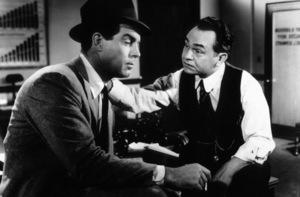 """""""Double Indemnity""""Fred MacMurray, Edward G. Robinson1944 Paramount / MPTV - Image 8294_0019"""