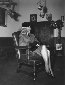 """""""Double Indemnity""""Barbara Stanwyck1944 Paramount** I.V. - Image 8294_0028"""