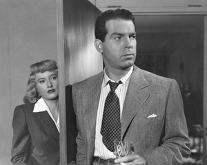 """Double Indemnity""Barbara Stanwyck & Fred MacMurray1944 Paramount**I.V. - Image 8294_0032"