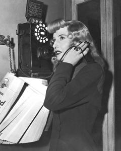 """""""Double Indemnity""""Barbara Stanwyck1944 Paramount**I.V. - Image 8294_0034"""