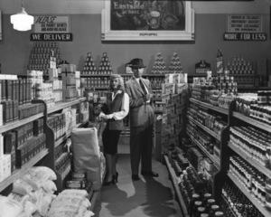 """Double Indemnity""Barbara Stanwyck, Fred MacMurray1944 Paramount**I.V. - Image 8294_0040"