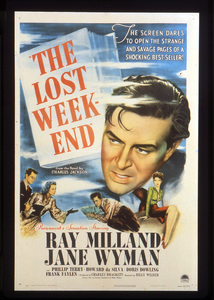 """""""The Lost Weekend""""Poster1945 Paramount**I.V. - Image 8298_0016"""