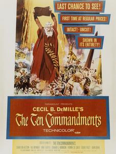 """Ten Commandments""Poster1956 Paramount - Image 8340_0013"