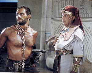 """Ten Commandments""Charlton Heston, Cedric Hardwicke1956 Paramount - Image 8340_0020"