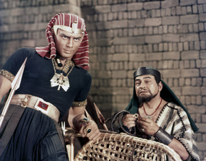 """Ten Commandments""Yul Brynner, Edward G. Robinson1956 Paramount - Image 8340_0023"