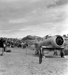 A plane used for dust storm effectsFilm SetTen Commandments, The (1956) © 1978 Ken Whitmore0049833Paramount - Image 8340_0024