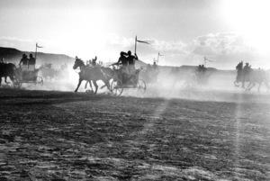 Pharoahs chariotsFilm SetTen Commandments, The (1956) © 1978 Ken Whitmore0049833Paramount - Image 8340_0048