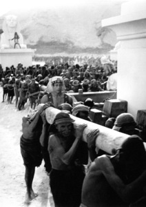 Slaves pulling the SphinxFilm SetTen Commandments, The (1956) © 1978 Ken Whitmore0049833Paramount - Image 8340_0049