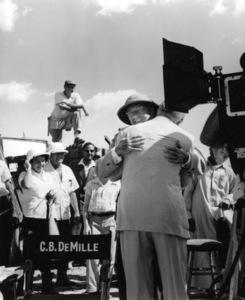 W.M. Boyd, Cecil B. DeMilleFilm SetTen Commandments, The (1956) © 1978 Ken Whitmore0049833Paramount - Image 8340_0060