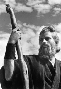 Charlton HestonFilm SetTen Commandments, The (1956) © 1978 Ken Whitmore0049833Paramount - Image 8340_0064
