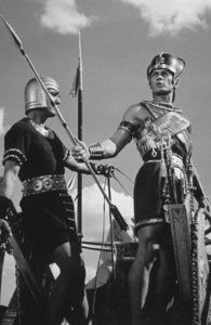 """Ten Commandments""Yul Brynner1956 Paramount © 1978 Ken Whitmore - Image 8340_0066"