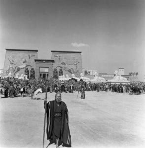 """The Ten Commandments""Charlton Heston1956 Paramount © 1978 Ken Whitmore - Image 8340_0082"