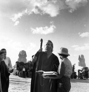 """The Ten Commandments""Charlton Heston1956 Paramount © 1978 Ken Whitmore - Image 8340_0083"