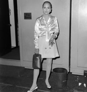 """The Thomas Crown Affair""Faye Dunaway1968 United Artists**I.V. - Image 8384_0018"