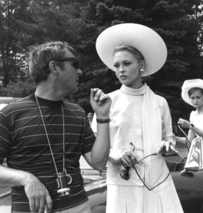 """""""The Thomas Crown Affair""""Director Norman Jewison, Faye Dunaway1968 United Artists**I.V. - Image 8384_0026"""
