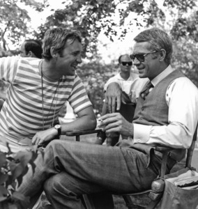 """""""The Thomas Crown Affair""""Director Norman Jewison, Steve McQueen1968 United Artists**I.V. - Image 8384_0029"""