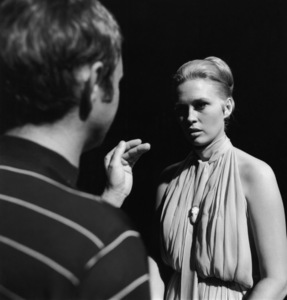 """""""The Thomas Crown Affair""""Director Norman Jewison, Faye Dunaway1968 Solar Productions** I.V. - Image 8384_0248"""