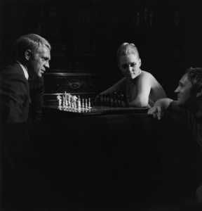 """""""The Thomas Crown Affair""""Steve McQueen, Faye Dunaway, director Norman Jewison1968 Solar Productions** I.V. - Image 8384_0249"""