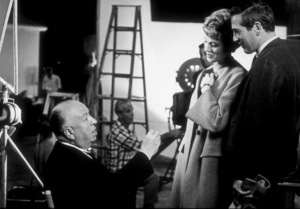 """Torn Curtain,""Julie Andrews, Paul Newman,  andDirector Alfred Hitchcock.1966 Universal.  - Image 8418_0005"