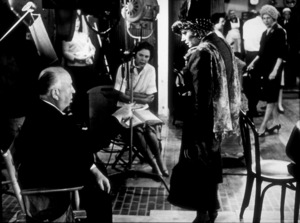 """""""Torn Curtain,""""Director Alfred Hitchcock on set.1966 Universal.  - Image 8418_0020"""
