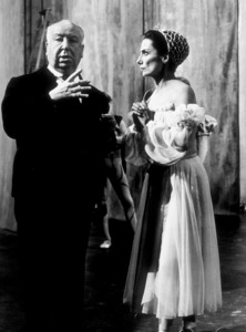 """""""Torn Curtain,""""Director Alfred Hitchcock on set.1966 Universal.  - Image 8418_0021"""