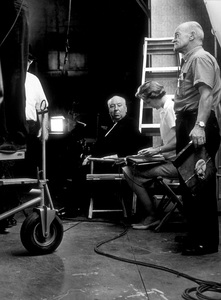 """""""Torn Curtain,""""Director Alfred Hitchcock.1966 Universal.  - Image 8418_0024"""