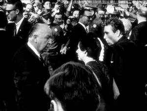 """""""Torn Curtain,""""Lord Snowdon & Princess Margareton set with director Alfred Hitchcock.c. 1965. - Image 8418_0036"""