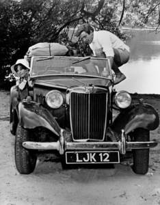 """""""Two For The Road"""" Audrey Hepburn, Albert Finney and a MG TD 1966 20th Century Fox ** R.C. - Image 8451_0006"""