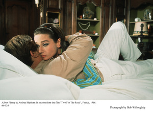 """""""Two For The Road""""Audrey Hepburn, Albert Finney1966 / 20th Century Fox © 1978 Bob Willoughby - Image 8451_0016"""