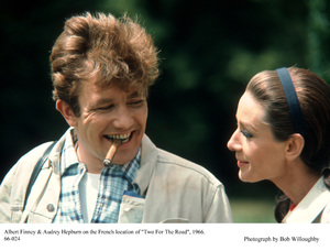"""""""Two For The Road""""Albert Finney, Audrey Hepburn1966 / 20th Century Fox © 1978 Bob Willoughby - Image 8451_0019"""