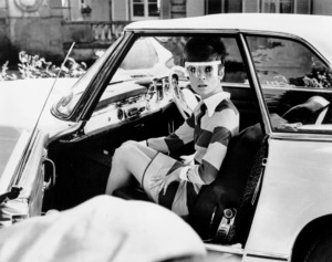"""""""Two For The Road""""Audrey Hepburn in a Mercedes 230SL1966 20th Century Fox**I.V. - Image 8451_0026"""