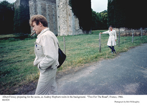 """""""Two For The Road""""Albert Finney, Audrey Hepburn1966 / 20th Century Fox © 1978 Bob Willoughby - Image 8451_0106"""