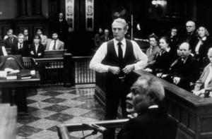 """The Verdict,""Paul Newman & Joe Seneca (foreground) © 1982 20th Century FoxPhoto by Barbara Walz - Image 8492_0010"