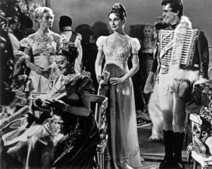 """War and Peace""Anita Ekberg, Audrey Hepburn1956 Paramount - Image 8514_0024"