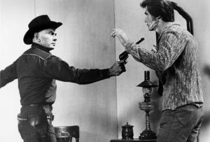 """Westworld""Yul Brynner, James Brolin1973 MGMPhoto by Bruce McBroom - Image 8526_0007"