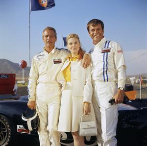 """Winning"" Paul Newman, Joanne Woodward, Robert Wagner1969 Universal Pictures© 1978 David Sutton - Image 8541_0126"