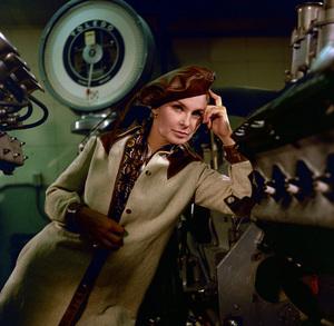 "Joanne Woodward during the making of ""Winning"" 1969© 1978 David Sutton - Image 8541_0133"