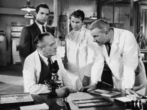 """The Young Doctors""Fredric March, Ben Gazzara, Dick Clark, Eddie Albert1961 United Artists - Image 8576_0001"