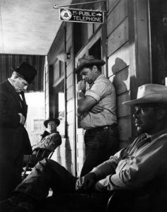 """""""Bad Day at Black Rock""""Spencer Tracy, Lee Marvin, Ernest Borgnine1955 MGM - Image 8622_0001"""