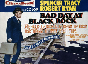 """""""Bad Day at Black Rock"""" (Lobby Card)Spencer Tracy1955 MGM - Image 8622_0002"""