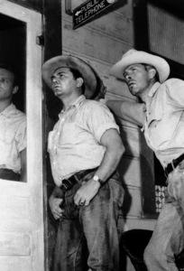 """""""Bad Day at Black Rock""""Ernest Borgnine, Lee Marvin1955 MGM - Image 8622_0003"""