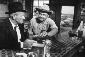 """Bad Day at Black Rock""Spencer Tracy, Ernest Borgnine1955 MGM - Image 8622_0004"