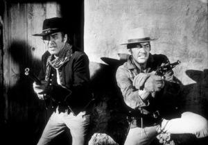 """Bandolero!""James Stewart & Dean Martin.1968 20th Century Fox - Image 8630_0001"