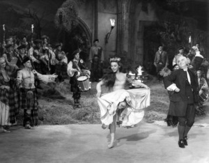 "Virginia Bosler and Barry Jones in ""Brigadoon""1954 MGM** I.V. - Image 8705_0013"