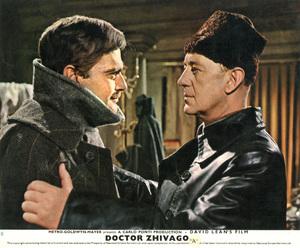 """Doctor Zhivago"" (lobby card)Omar Sharif, Alec Guinness1965 MGM  - Image 8849_0003"