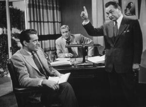 """Glass Web, The""John forsythe, Edward G. Robinson,and Richard Denning.1953 Universal - Image 8938_0001"
