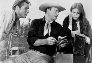 """""""Circus World,"""" Paramount 1964.John Smith, John Wayne, and Claudia Cardinale. - Image 8947_0011"""