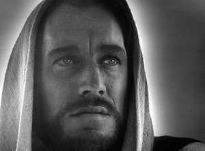 """""""The Greatest Story Ever Told""""Max Von Sydow as Jesus1965 United ArtistPhoto by Floyd McCarty - Image 8951_0002"""