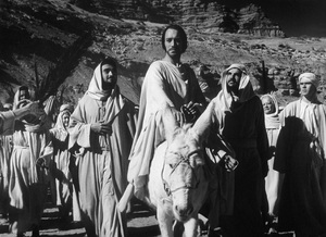 """""""The Greatest Story Ever Told""""Max Von Sydow as Jesus1965 United ArtistPhoto by Floyd McCarty - Image 8951_0012"""